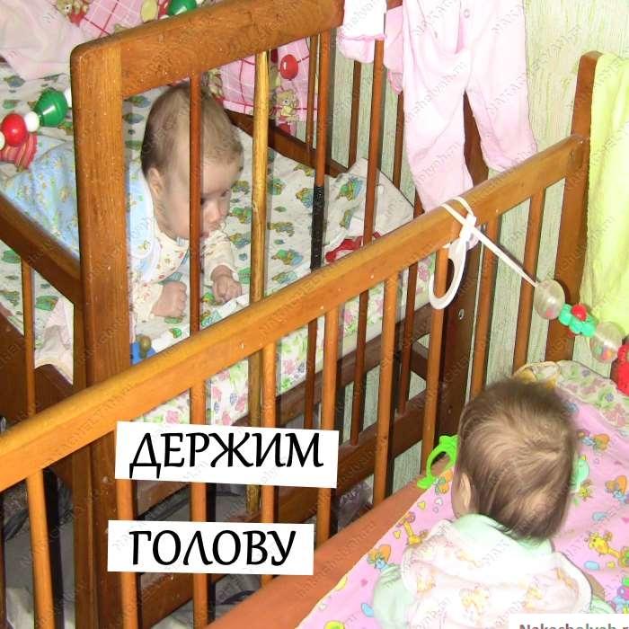 физическое развитие ребенка в три месяца