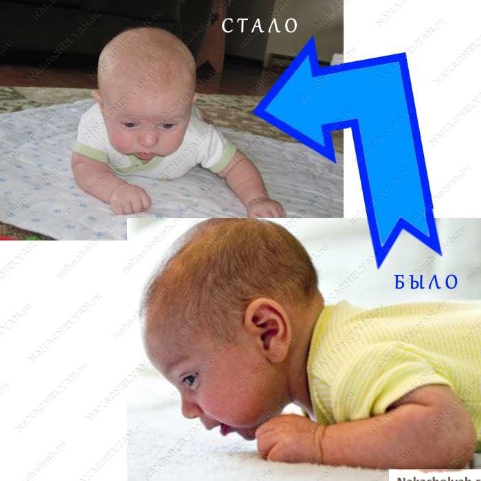 как развивать ребенка в три месяца удержание головы